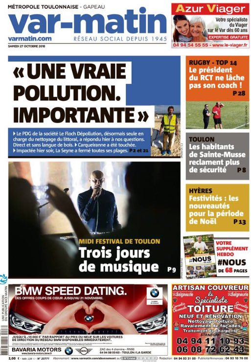 speed dating toulon 2018