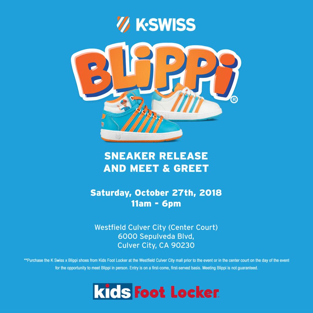 cdf4ea8af1f8d7 Purchase the new  KSWISS x  BlippiOfficial Collection at our Culver City  store today or at center court tomorrow and you will have the opportunity  to meet ...