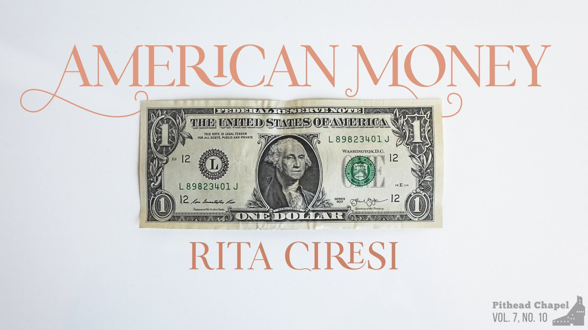 Wonderful Editors Pitheadchapel For Including My Piece American Money Suble Economics 101 Italian Style Https T Co Rpnt240jkl