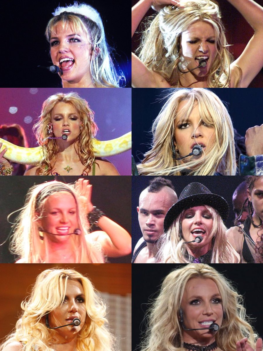 Everything Britney On Twitter The Iconic Microphone Headset Britney Has Used Since She First Started Out
