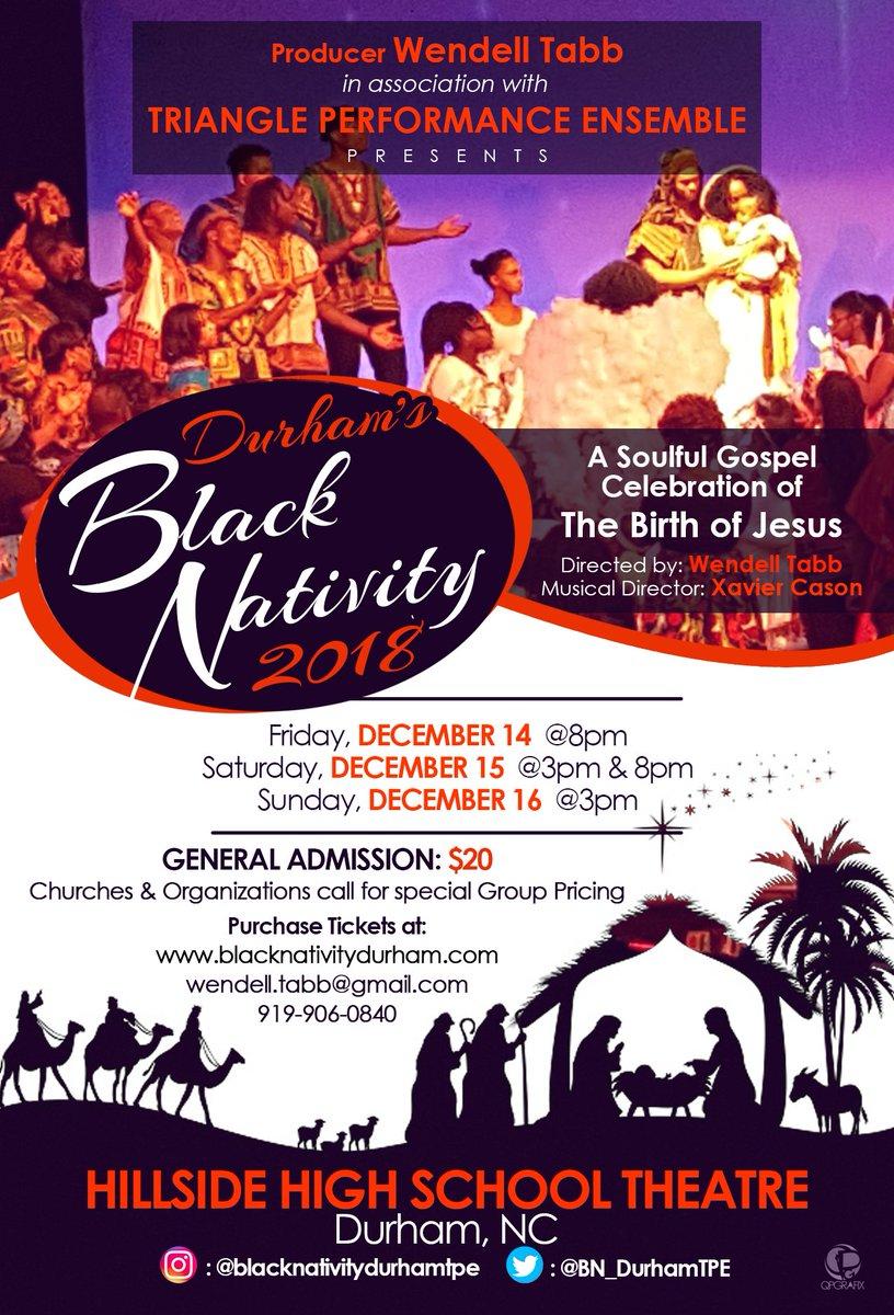 Black Nativity Durham Bn Durhamtpe Twitter