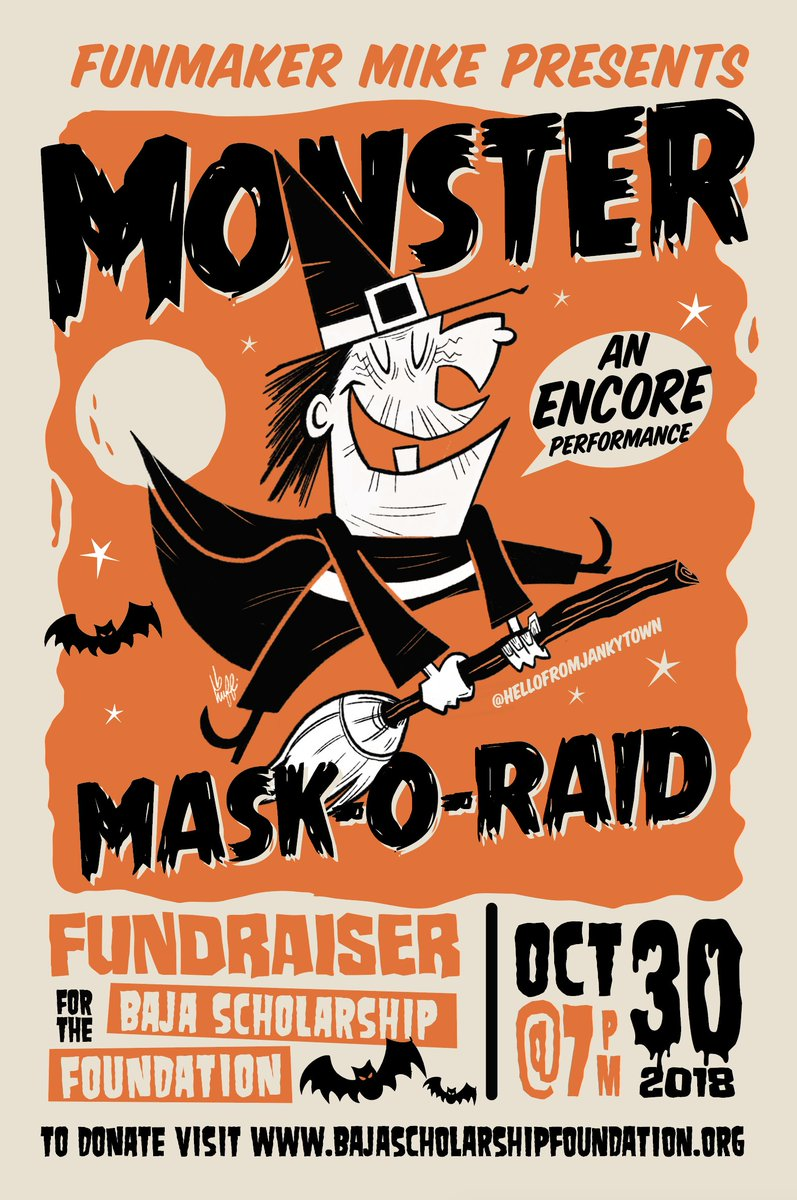 Dont miss out https www eventbrite com e monster mask o raid encore presented by funmaker mike tickets 51822279834 comicconmuseum comiccon sdcc