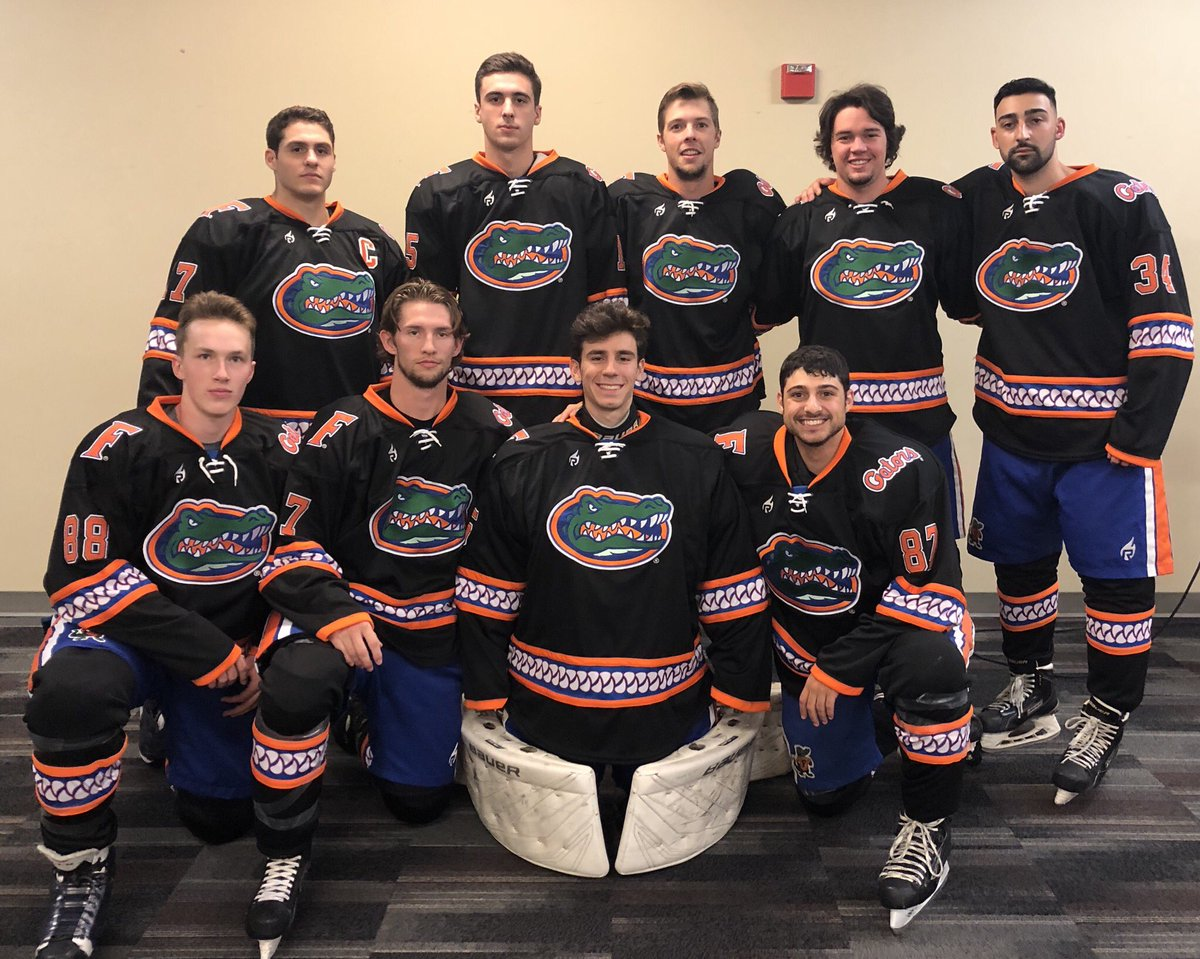 sports shoes 1ebef ec677 Florida Gators Ice Hockey Club on Twitter: