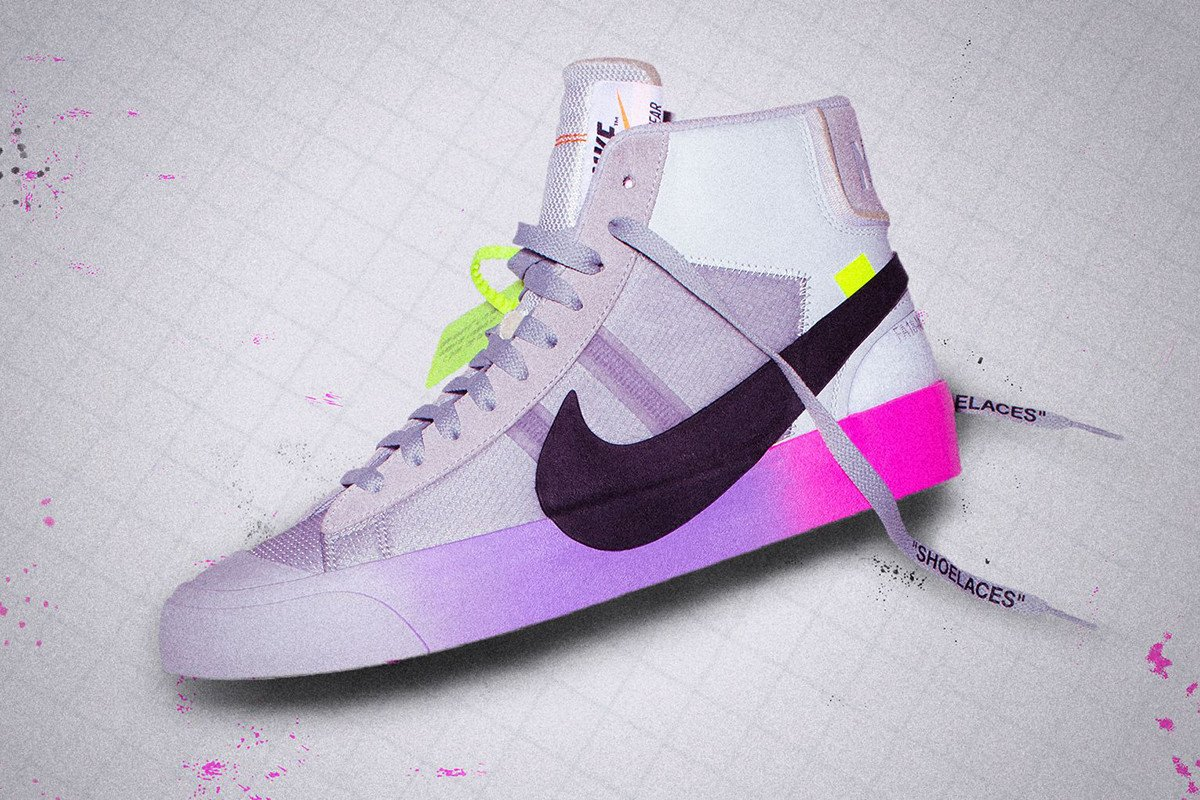 finest selection ce64a b3d02 here s where to cop the serenawilliams offwht x nike blazer post release