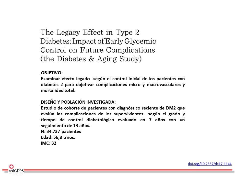 diagnóstico de diabetes tipo 2 buenas pautas