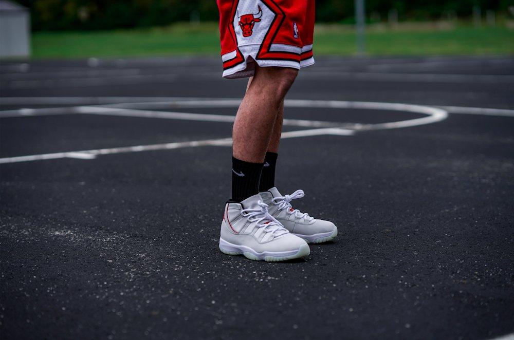 Air Jordan 11 Retro GS 'Platinum Tint'