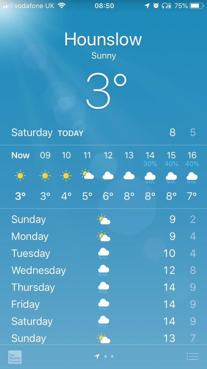 Matahari ada tapi suhunya cuman segini... Untung mau masuk airport, semoga angetan dikit. Belfast i'm coming!