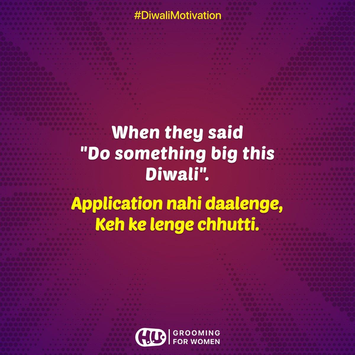 Mitron...this Diwali, don't burst a pataka, be a pataka!  #Diwali2018 #happilyunmarried