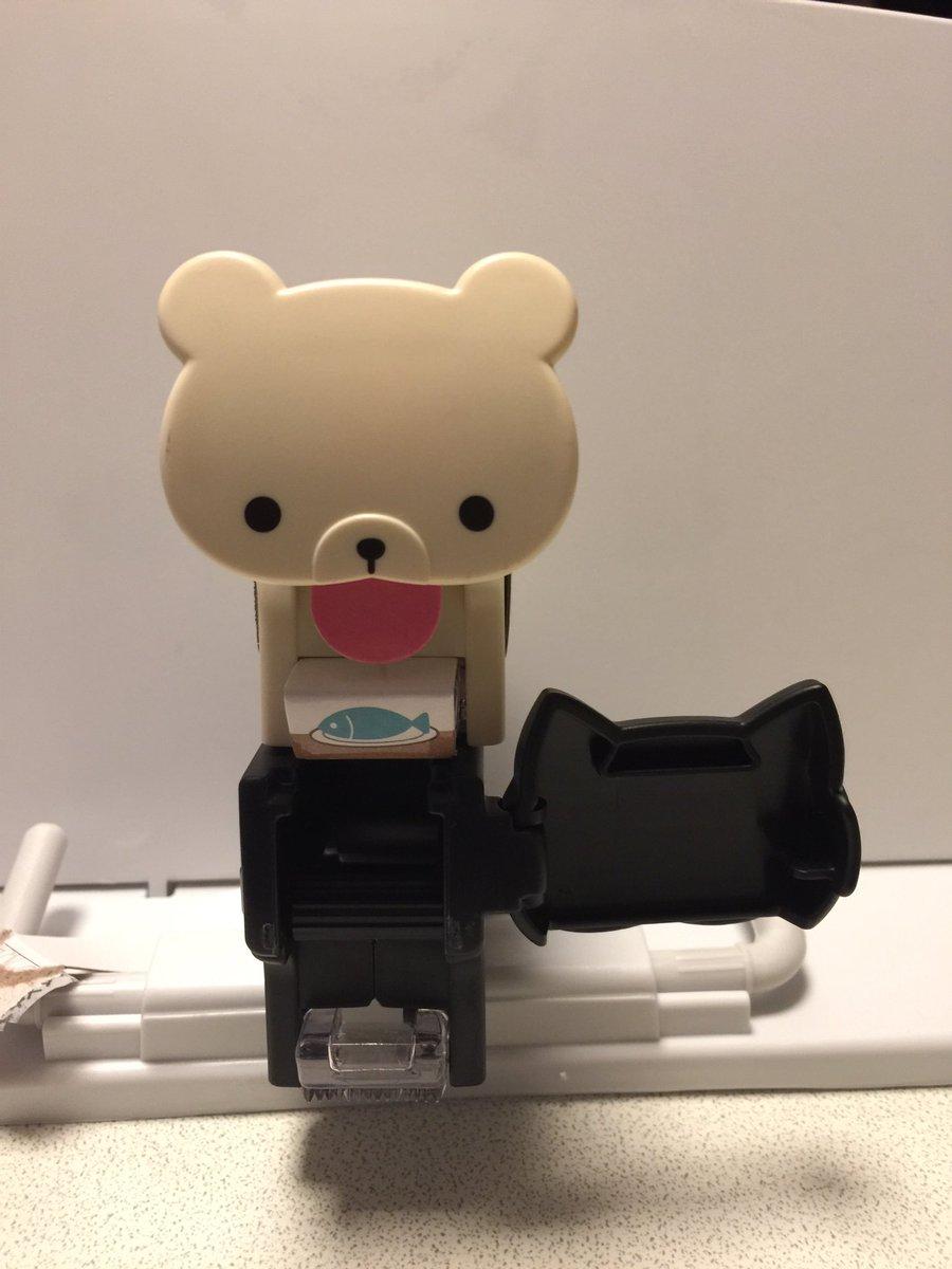 test ツイッターメディア - #100均の マスキングテープカッター #キャンドゥ 製で可愛いいので思わず買ってしまいました。 クロネコと白犬の二種類あります。  ベロ位置からテープが?? https://t.co/kHxXOzjlBs