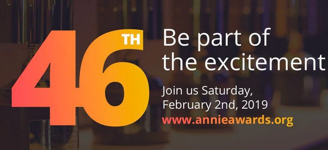 Still time for submissions to the 46th @AnnieAwards. Deadline: 1 Nov ow.ly/Cy4b30mjXjy