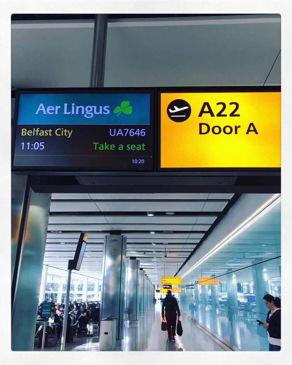 Next city.... @U2 #u2 #u2eitour #london #belfast #hidupadalahkonser