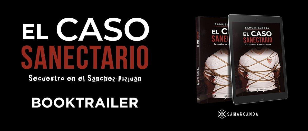 ‼ ¡El jugador del #SevillaFC @9CarlosEnrique ha sido secuestrado! ¿Te atreves a descubrir qué se oculta tras la trama de un rapto de Primera División? ¡#ElCasoSanectario YA A LA VENTA! Disponible en http://SamuGuerra.com, Amazon, FNAC, Casa del Libro, http://Libros.cc