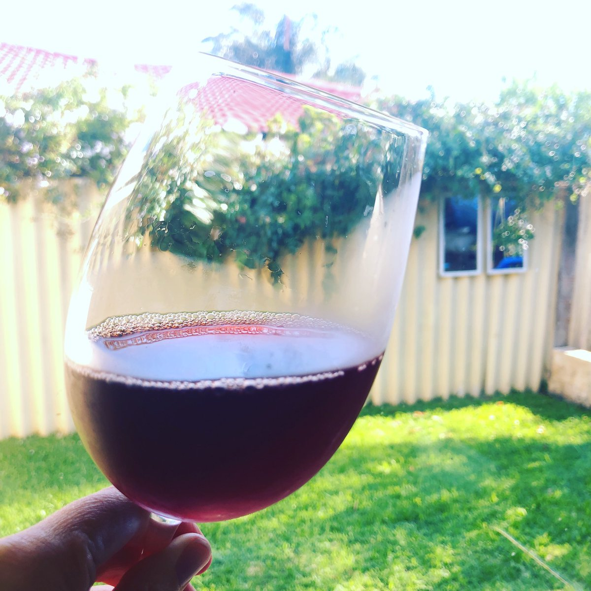Look at the colour of this lovely Alicante Bouchet from 2012 #summerwine #fromthecellar #gotorose #southaustralia #barossa #rockford https://t.co/gEvsWShL29