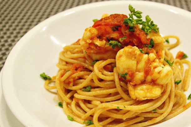 Spaghetti with Lobster Sauce - https://t.co/9SsecbsXdA https://t.co/dsXZjm2v3u