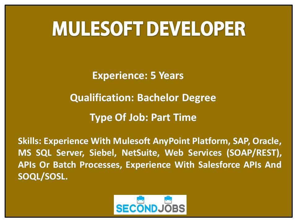 MulesoftDeveloper tagged Tweets and Downloader | Twipu