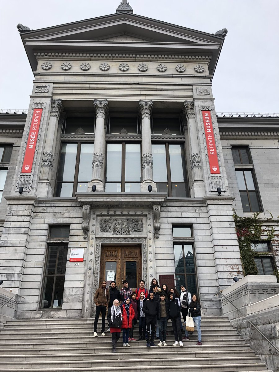 test Twitter Media - Today we did a walking tour of @mcgillu. Our students particularly enjoyed visiting the Islamic Studies library and the Redpath museum. Our volunteers told our students about university student life and showed them pavilions where they might study in a few years 🤩 https://t.co/V5u9vJOYat