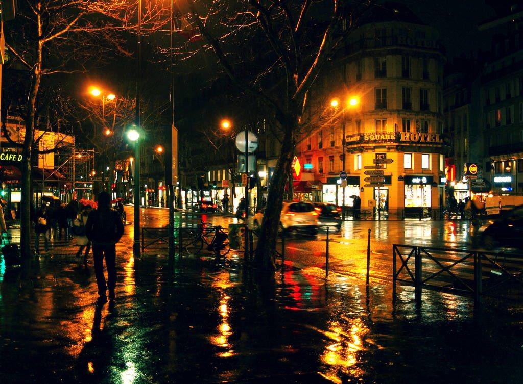 это происходит картинки дождливой улицы ночью помощью этих проектов