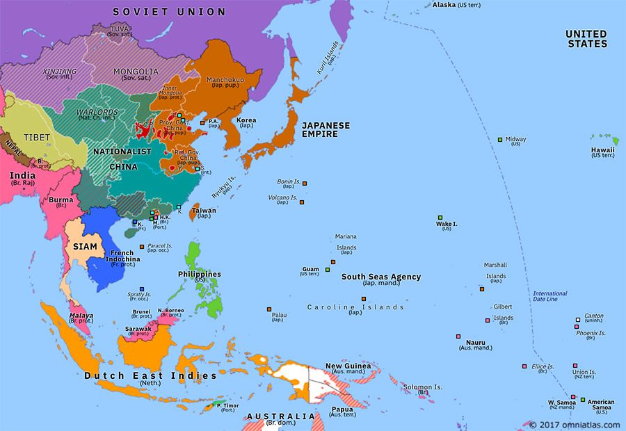 Map Of Asia Today.Omniatlas On Twitter Asia Pacific 80 Years Ago Today Fall Of