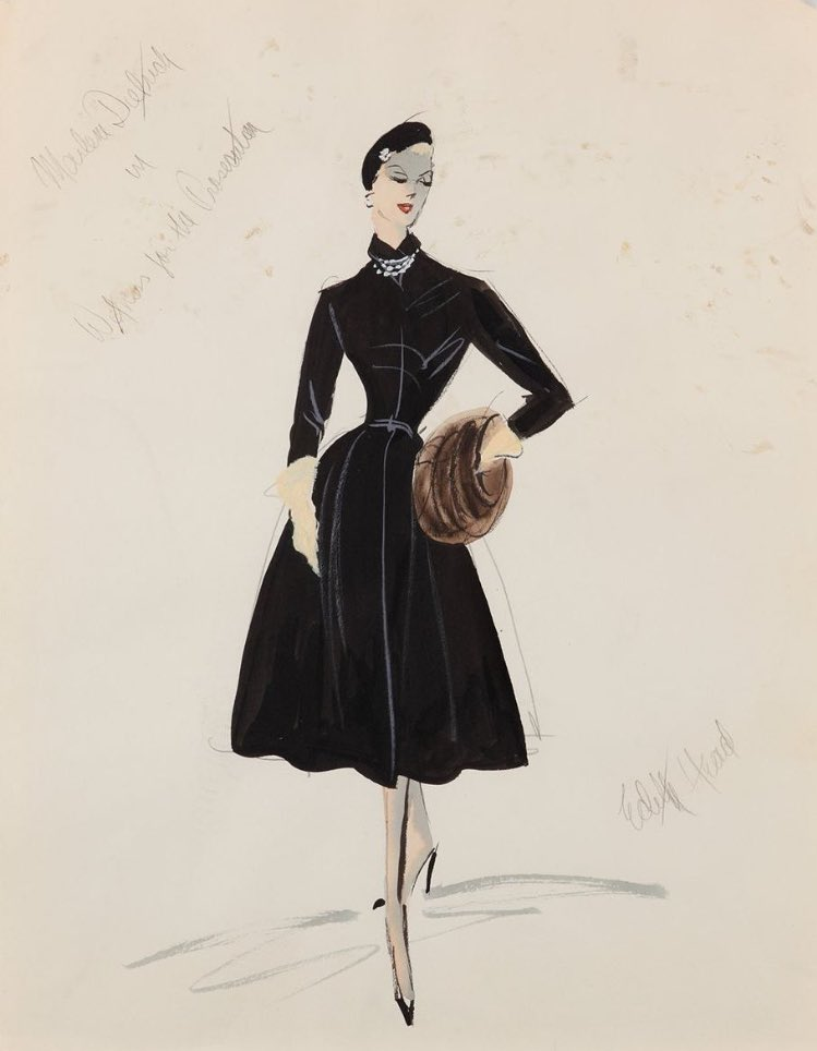 Image result for classic Hollywood costume sketches