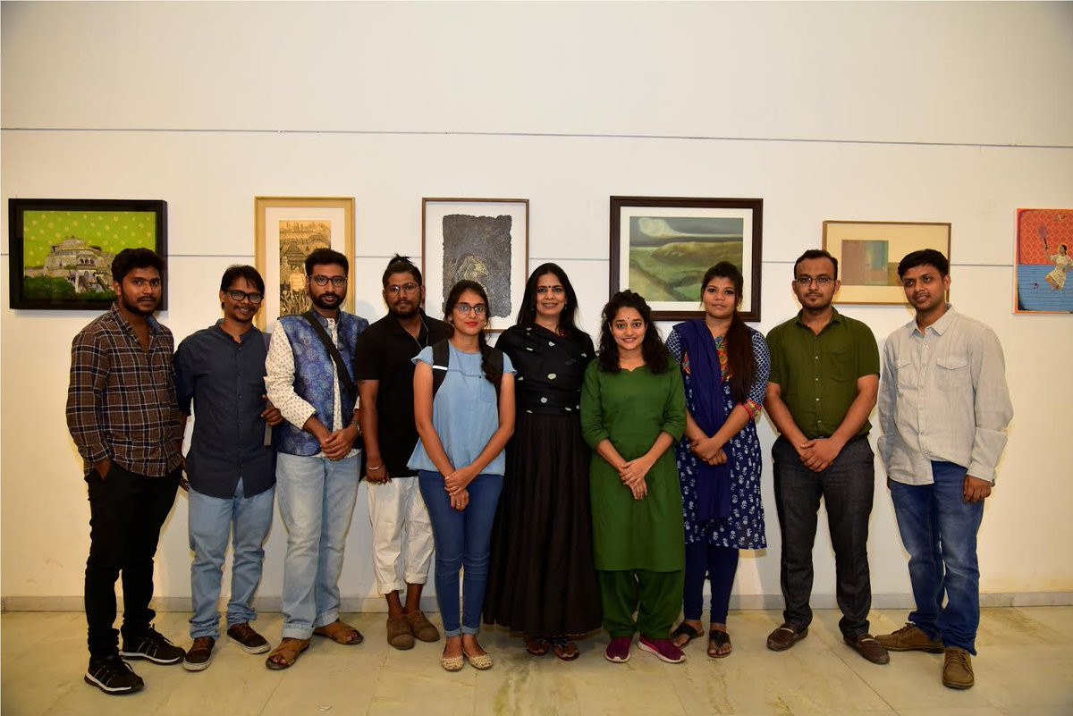 2018 edition of Abir First Take art show kicks off; artworks of 111 budding artists from 40 cities on display
