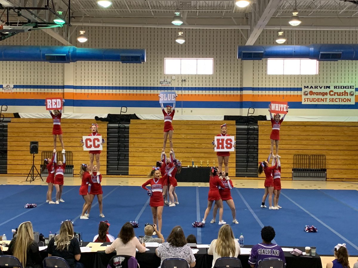 Cchs Football On Twitter Your Varsity Cougar Cheer Team Took 1st