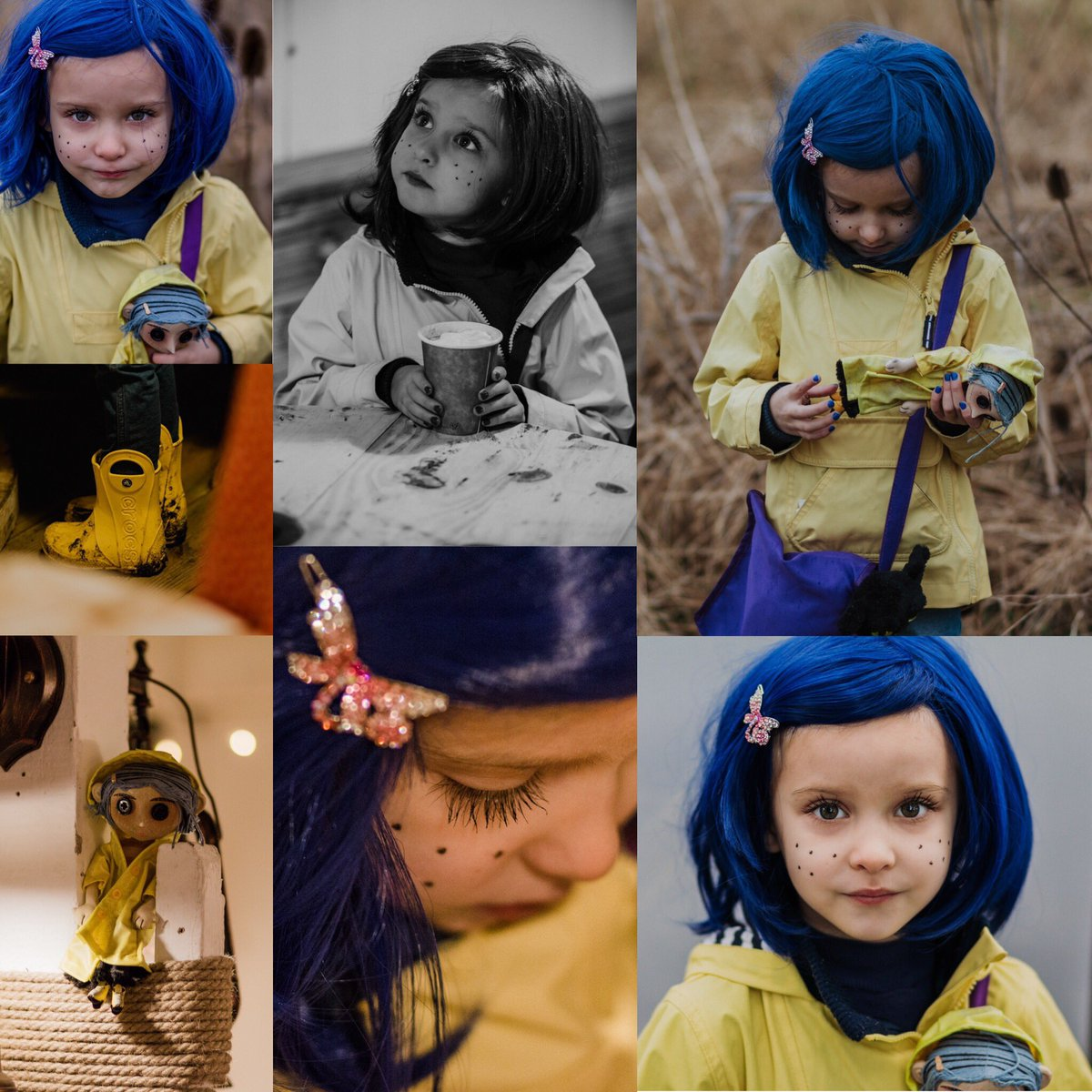Kate On Twitter Here S More Photos Of Calis Halloween Costume As Coraline Neilhimself Laikastudios Safe To Say The Local Residents Loved Stopping To Talk To Miss Jones That Day In The Park