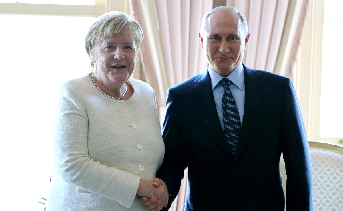 #Istanbul: Meeting with Federal Chancellor of Germany Angela Merkel bit.ly/2qlOCSV
