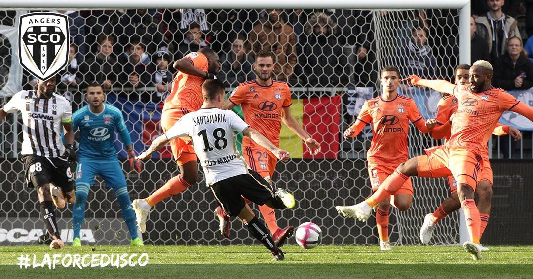 Angers SCO Lyon photo Twitter agence digitale Ouest MEDIAS