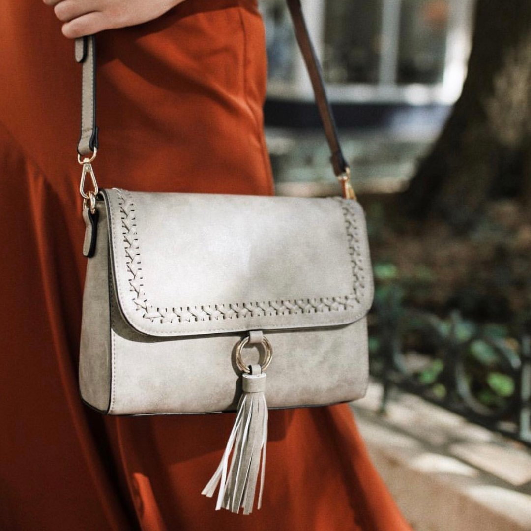 9340c71f9f8 The Sara Flapover Crossbody Bag is a favorite this fall! Get yours in-store