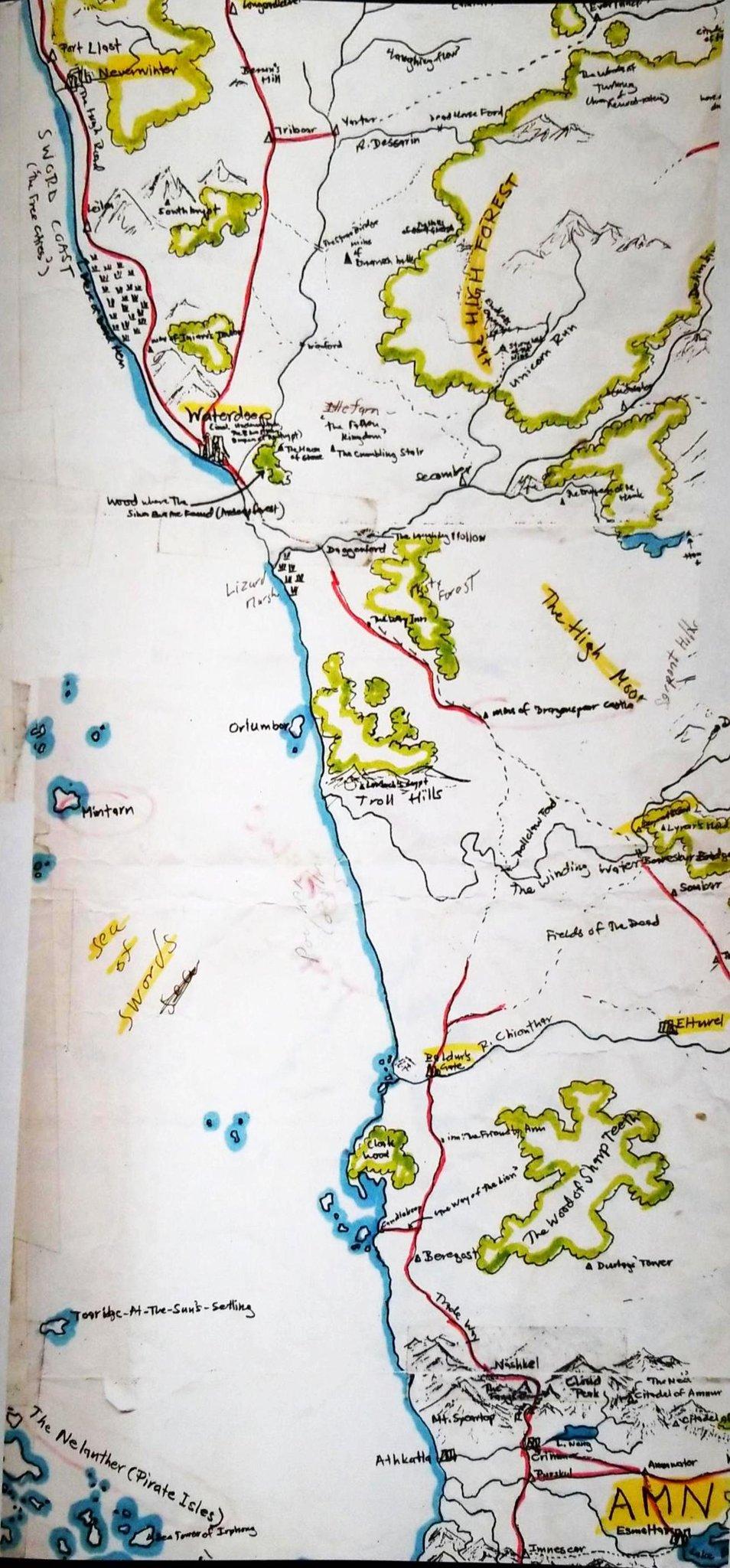 Ed Greenwood Map