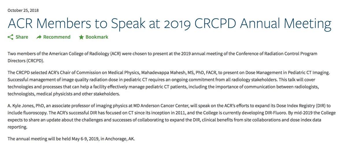 Acr 2019 Program