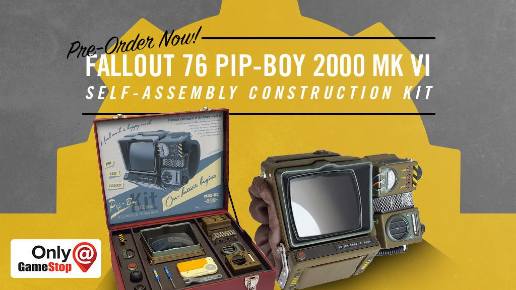 fallout 76 pip boy gamestop