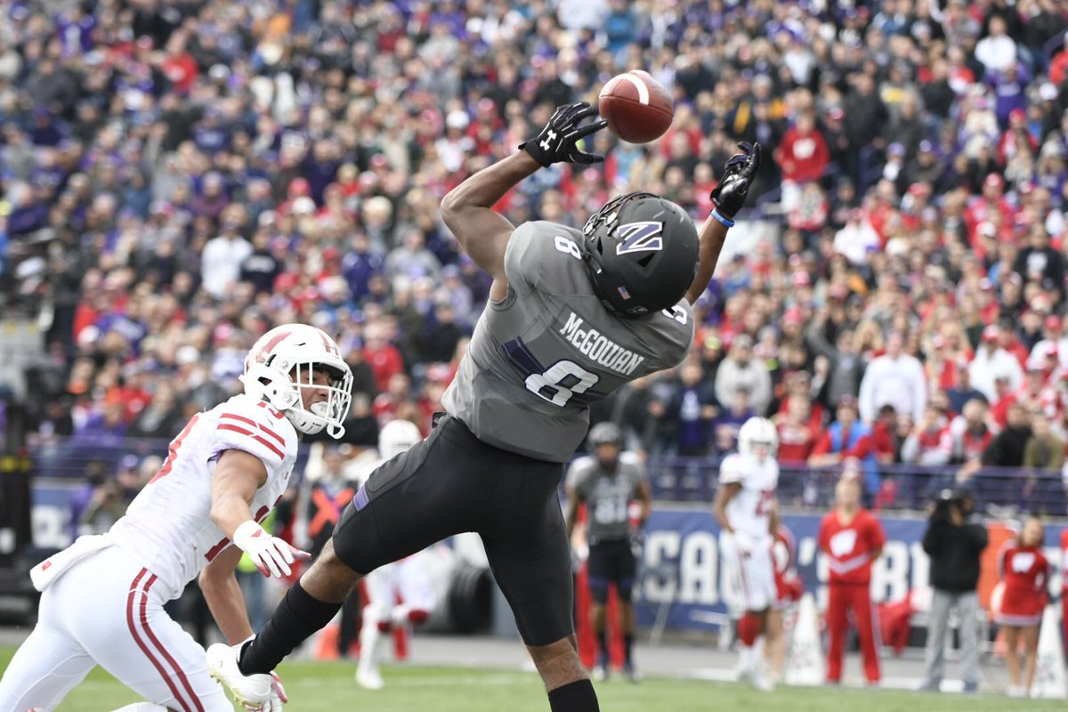 * @30for30 voice * What if we told you... @Mcgowan_30 came down with it for a TD? #B1GCats