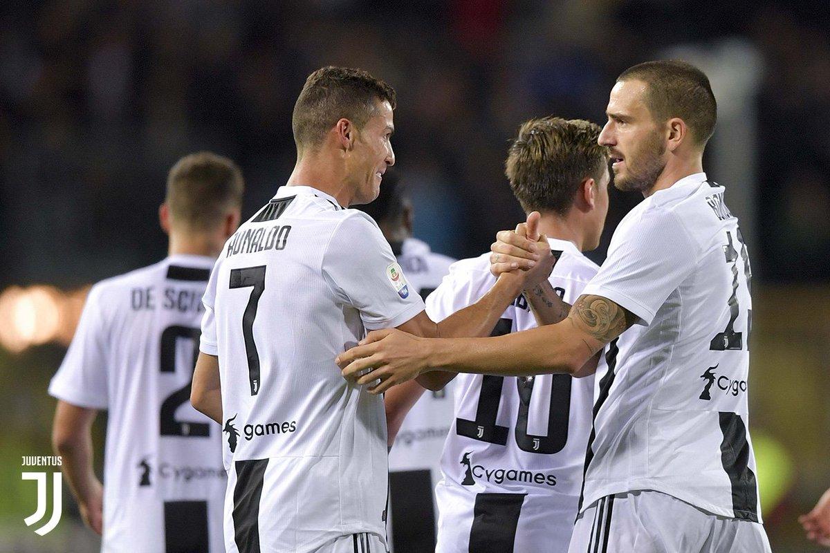 la victoria de la 'Juve'
