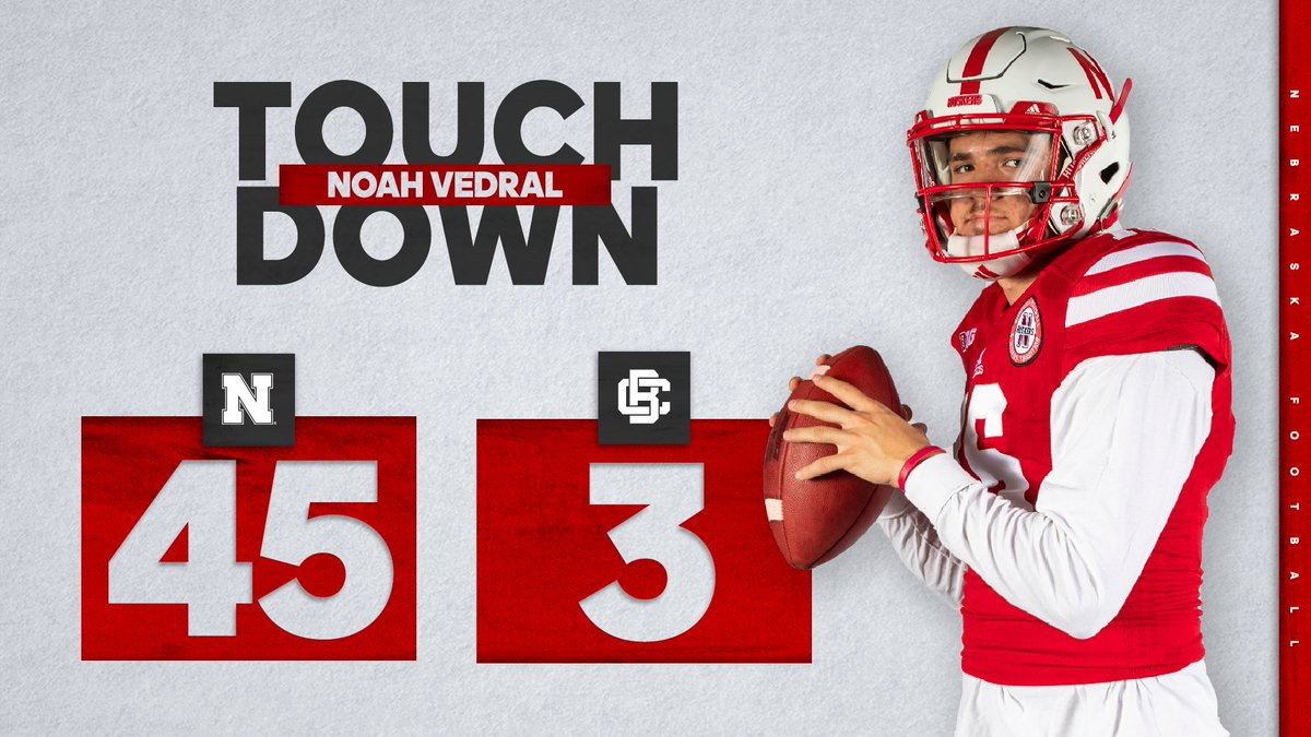 Touchdown for @Noah11_V‼️ #GBR🌽