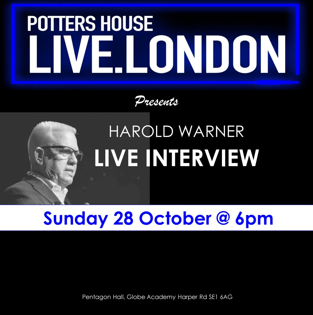 Potter S House Live On Twitter Our 2nd Pottershouselive Service Is