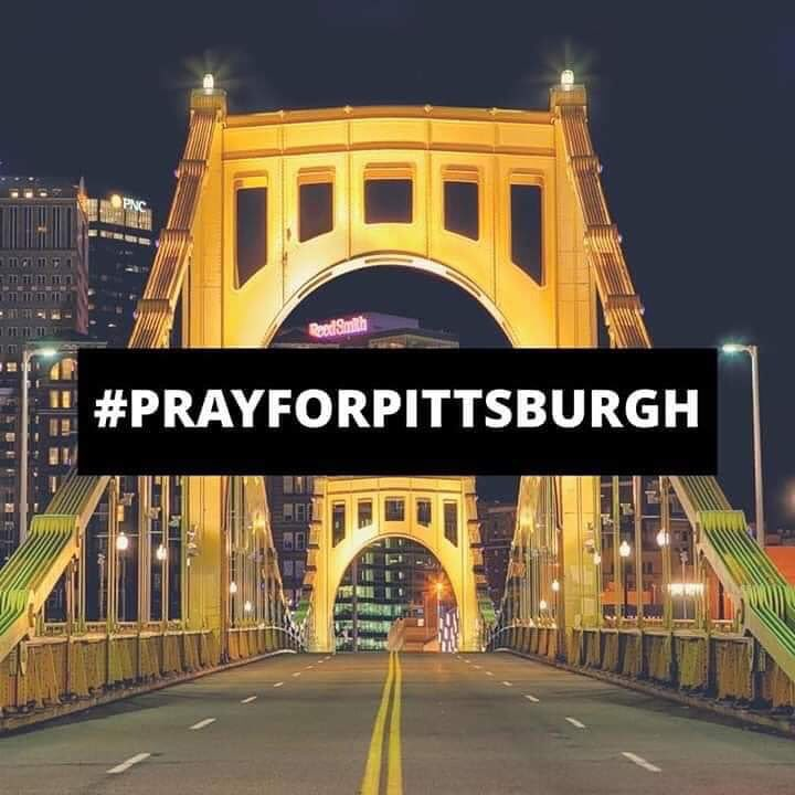 Stronger than Hate. #Pittsburgh