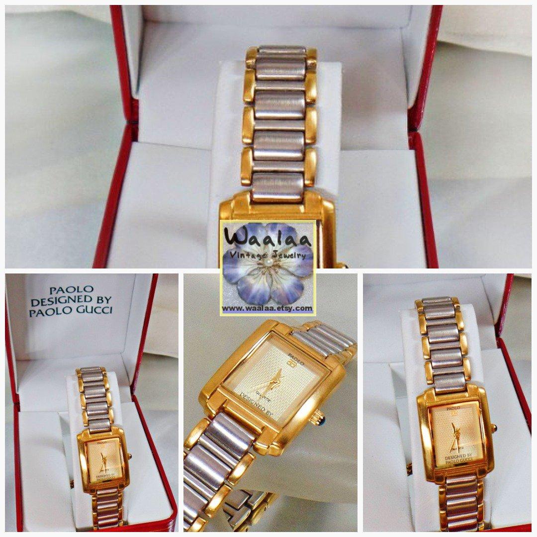 d3f7d4e118f Paolo Gucci Watch. Gucci Ladies Watch. Women  39 s Watch. Designer Watch.  Watches for Women. Jewelry for Women. waalaa  GoldSilverWatch   WatchesForWomen ...