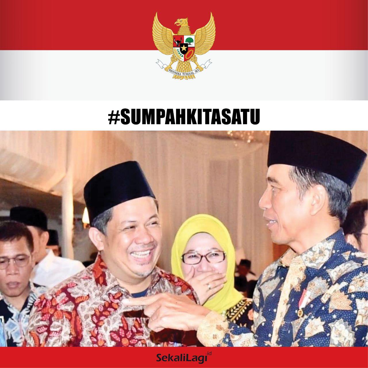 Bicara Soak Pose Tersenyum Lebar Di Samping Jokowi, Fahri