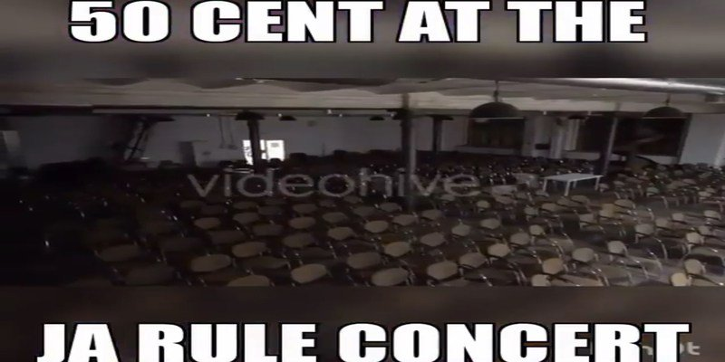 50 Cent Continues To Troll Ja Rule And Ashanti With Empty Concerts On