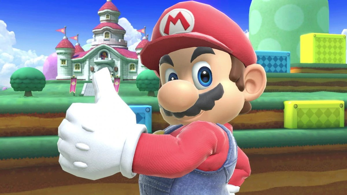 Im Literally Shaking Rn Mario Would Never Do This Tweet Added By