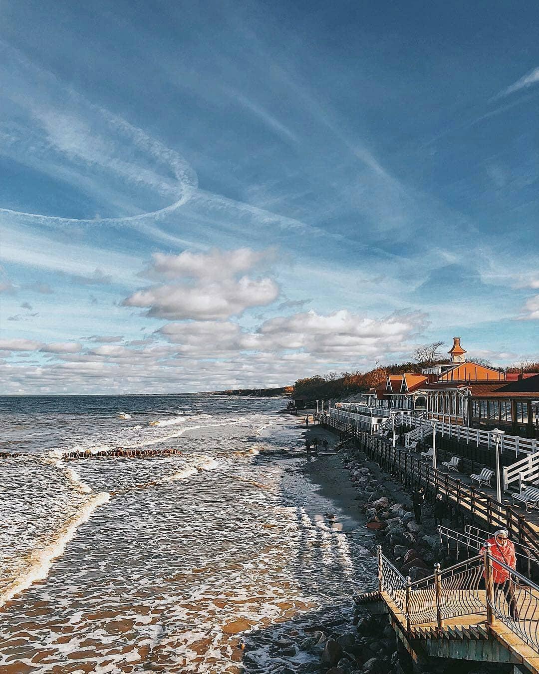 давно получил калининград фото моря время отдыха марк