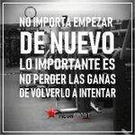 Image for the Tweet beginning: Féliz domingo!!! #unestilodevida #volveremos  #volverloaintentar