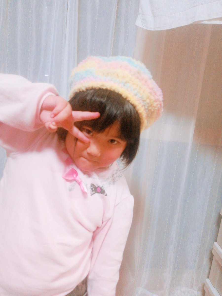 test ツイッターメディア - セリアで購入したドルチェという毛糸で娘にベレー帽編みました?? カラフルでお気に入りです??  #meetang動画より  #ベレー帽  #セリア  #ドルチェ  #100均  #かぎ針編み https://t.co/fjq3GW6zaW
