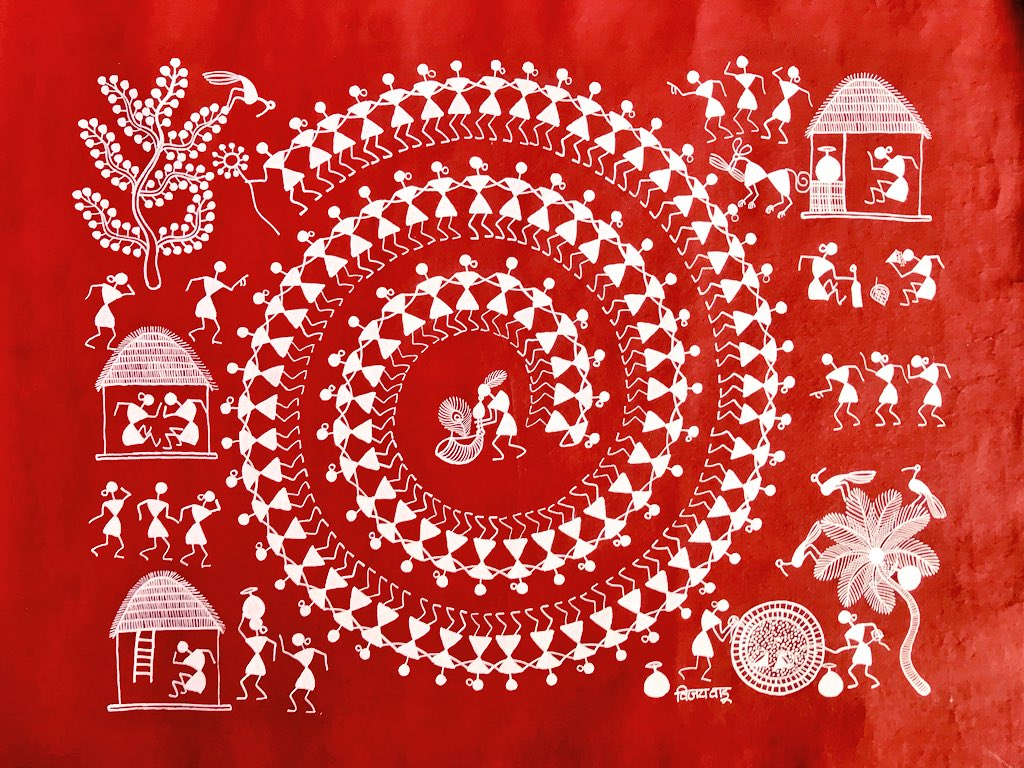 Warli Painting, Palghar Police, Palghar Mitra and 2 others