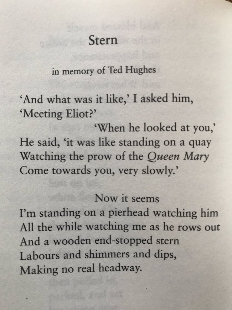 Remembering Ted Hughes today, on the 20th anniversary of his death.