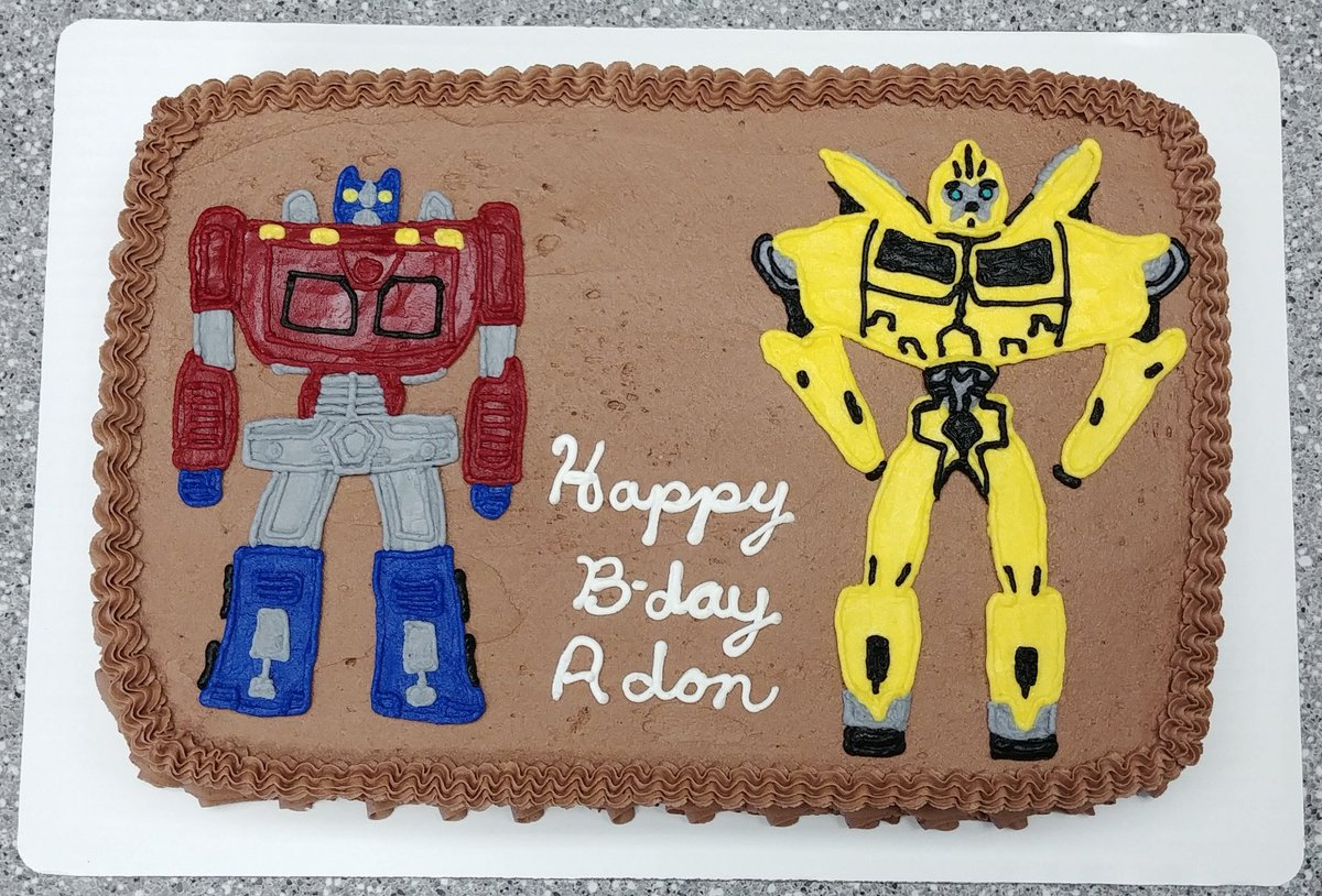 Magnificent Cupcakes By Flea Dr Toiitr Transformers Cake Transformer Funny Birthday Cards Online Inifofree Goldxyz