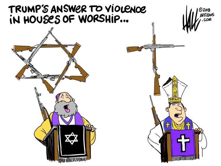 More guns. Always their answer. Please share.