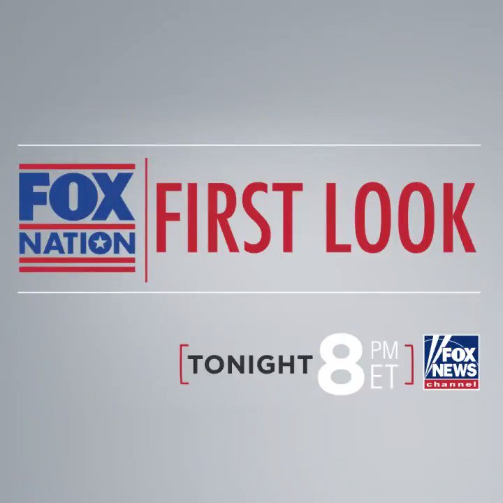 Join us for a special first look at Fox Nation, tonight at 8p ET on Fox News Channel! bit.ly/2D3GM8Q