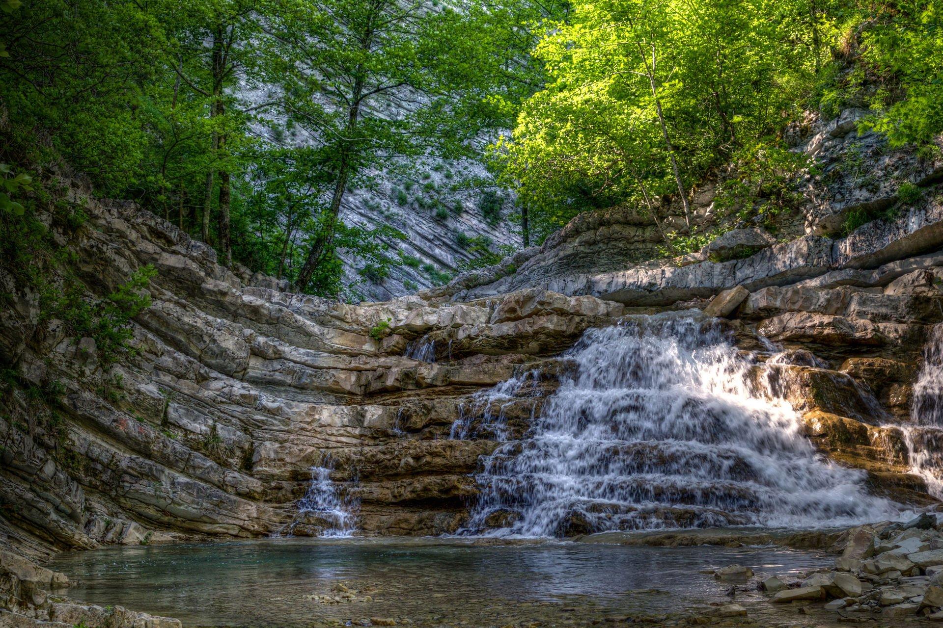 водопады геленджика фото и описание пугали меня что